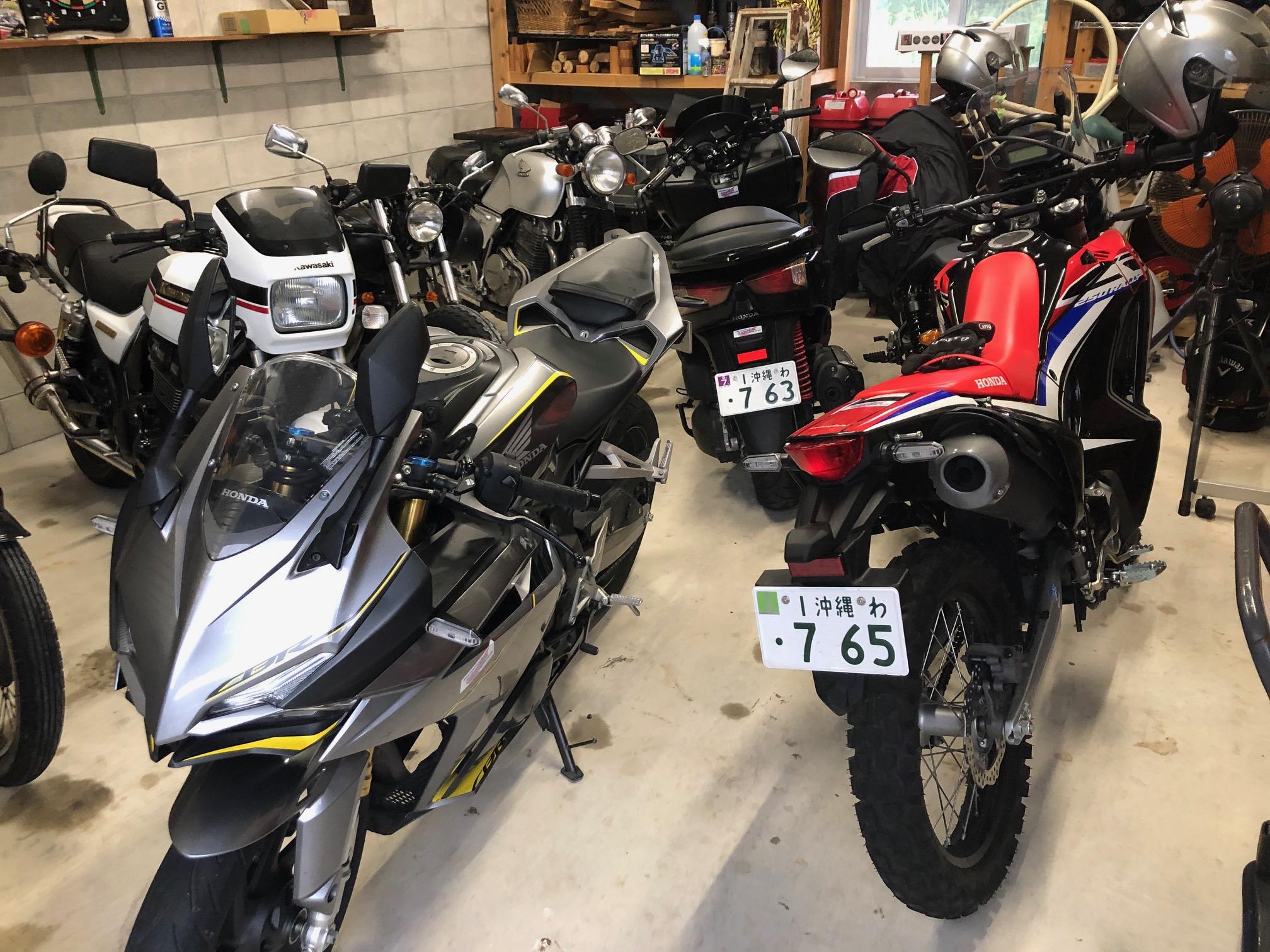 バイクがいっぱい!
